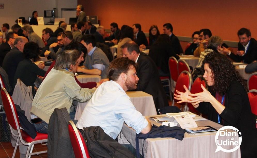 Imprese e professionisti si incontrano al Matching Day (© Diario di Udine)