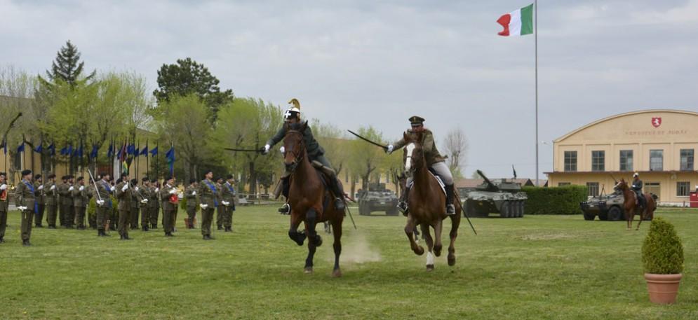La Cavalleria in azione