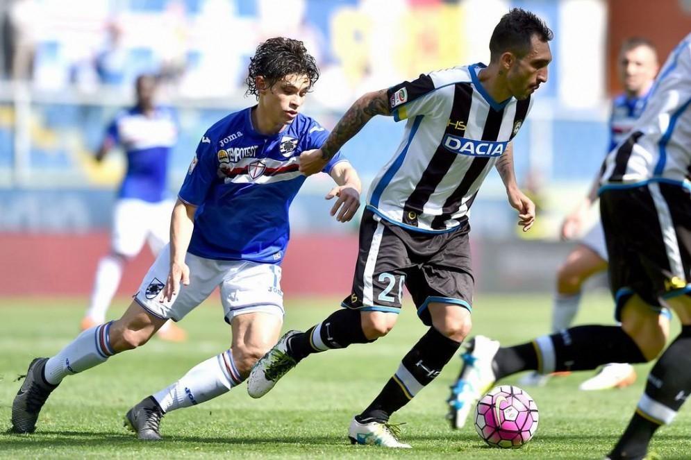 L'Udinese esce sconfitta dallo stadio di Genova (© Diario di Udine)