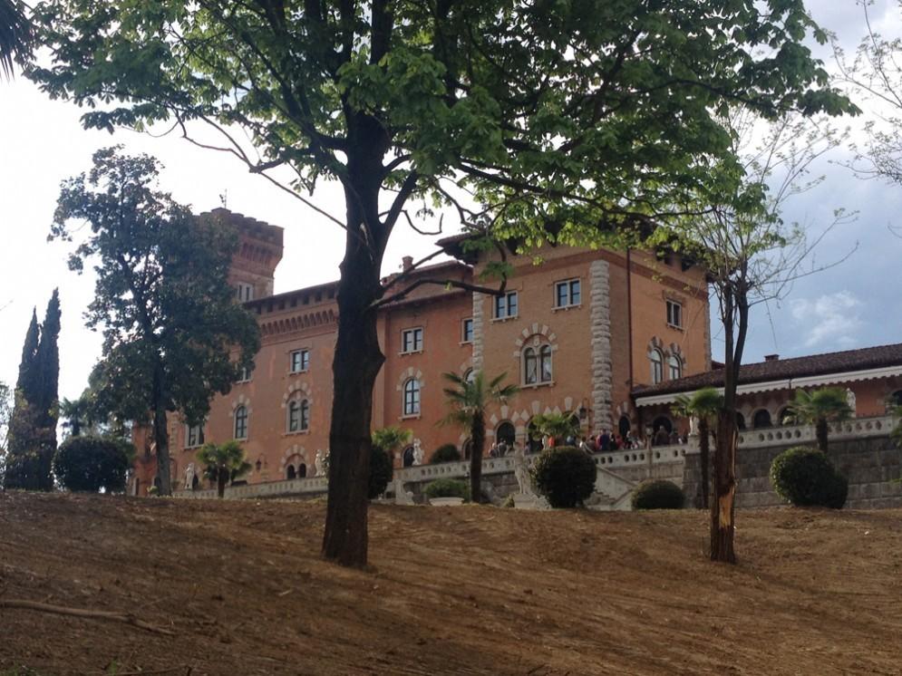 Il bellissimo Castello di Spessa
