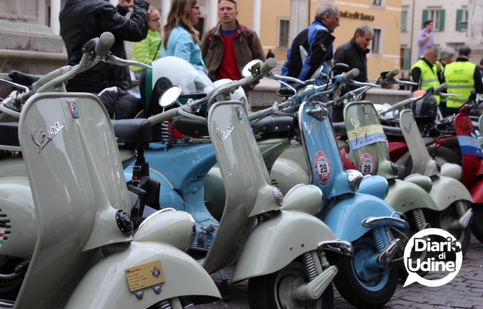 Udine invasa dalle Vespa