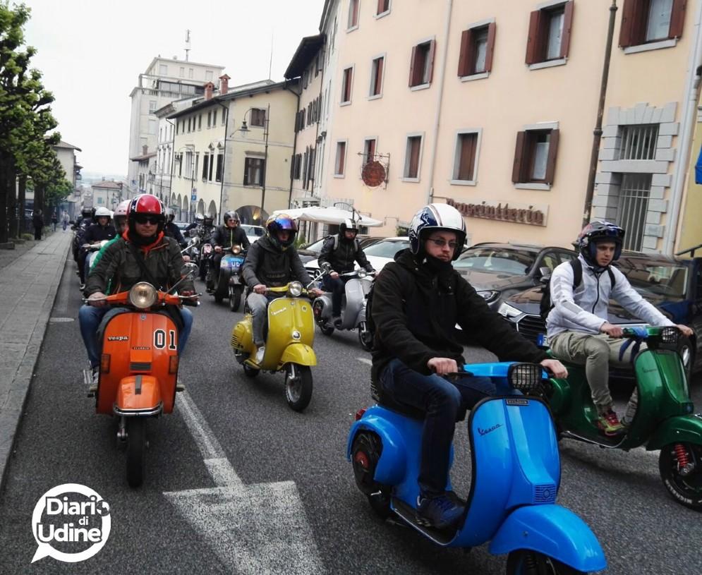 Immagini del raduno di Udine