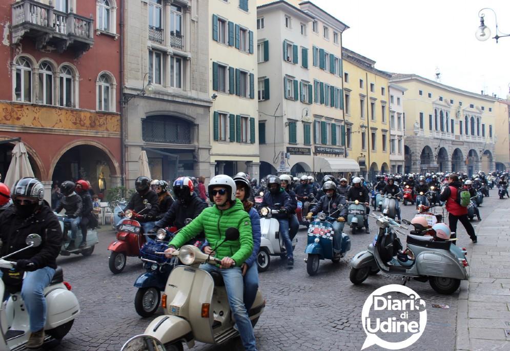 Immagini del raduno Vespa Città di Udine