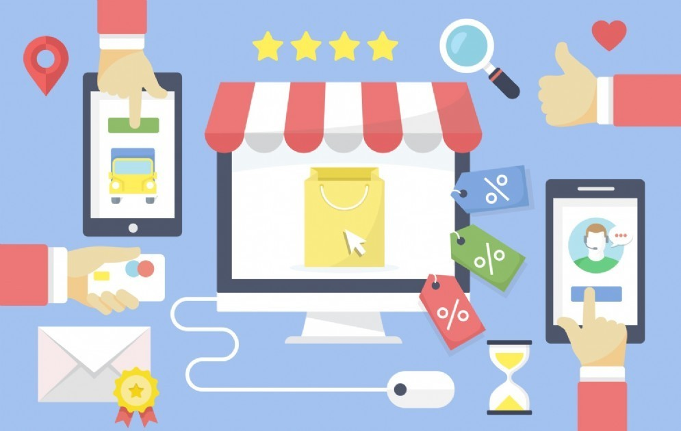 Gli store preferiti sono i così detti marketplace, ossia store multiprodotto