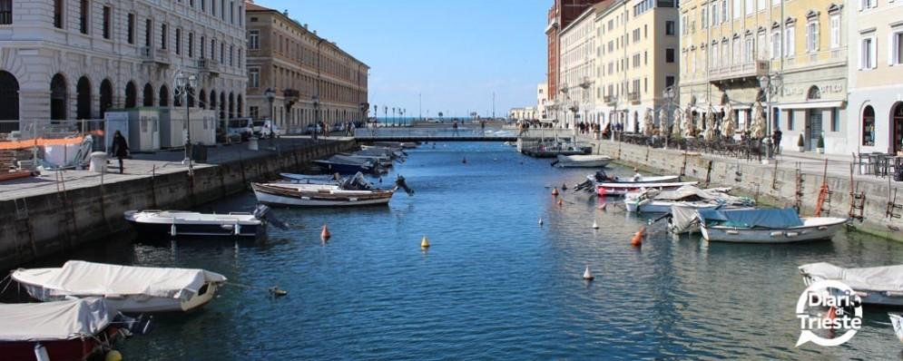 Il Canal Grande dio Trieste