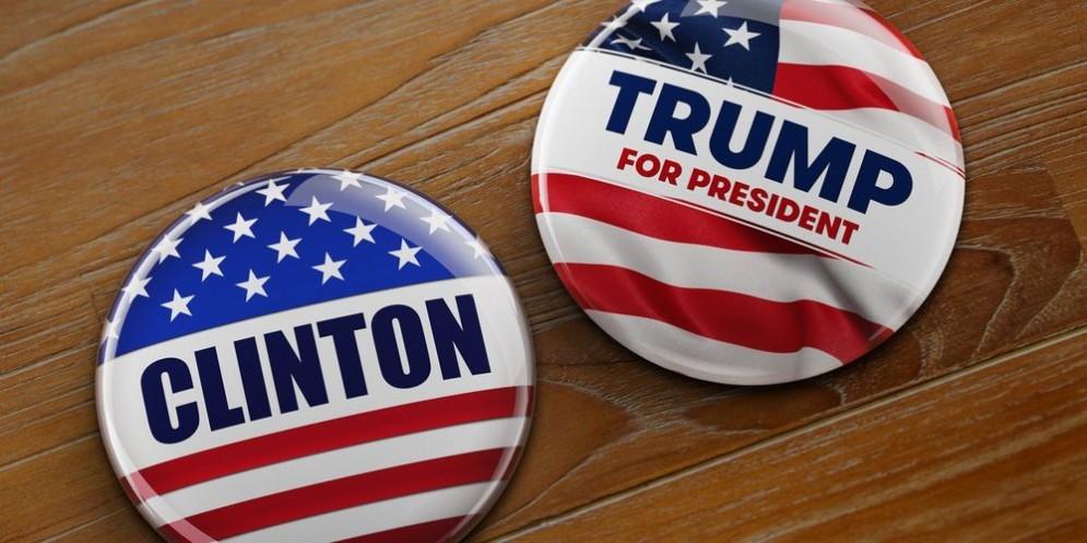 Spille elettorali con i nomi dei probabili sfidanti alla Casa Bianca.