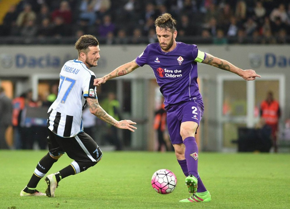 Udinese corsara contro la Fiorentina