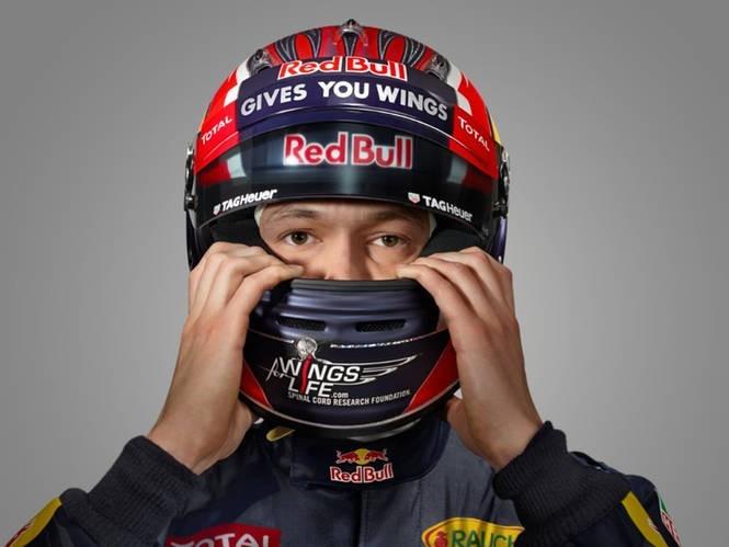 Il pilota della Red Bull Daniil Kvyat