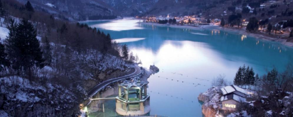 Il lago di Barcis