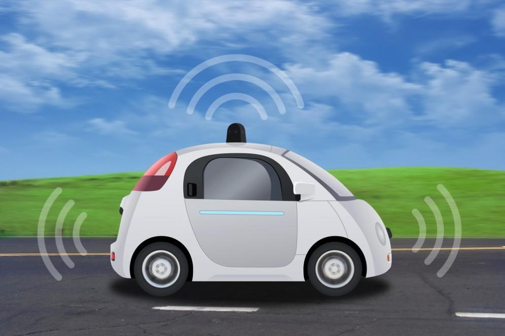 Google Car in miniatura