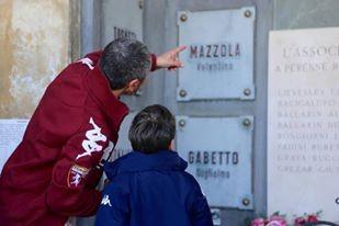 Padre e figlio, uniti dall'amore per il Grande Torino