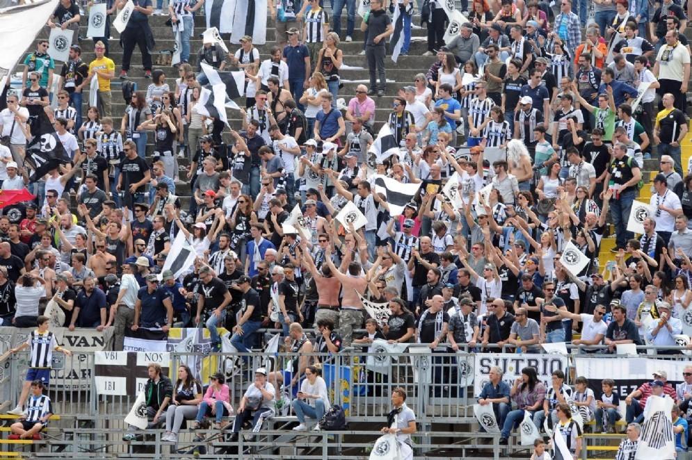 Oltre mille i tifosi in trasferta (© Diario di Udine)