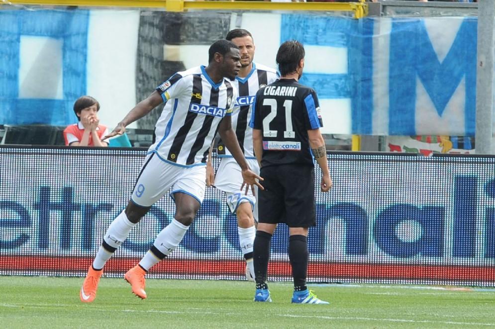 L'Udinese conquista la salvezza con l'Atalanta