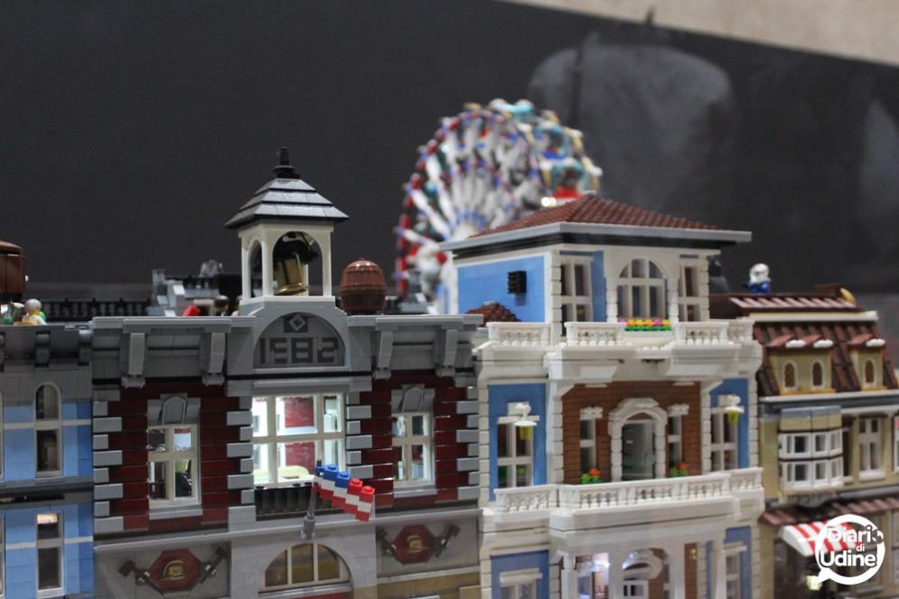 Le costruzioni Lego esposte a 'City Booming'