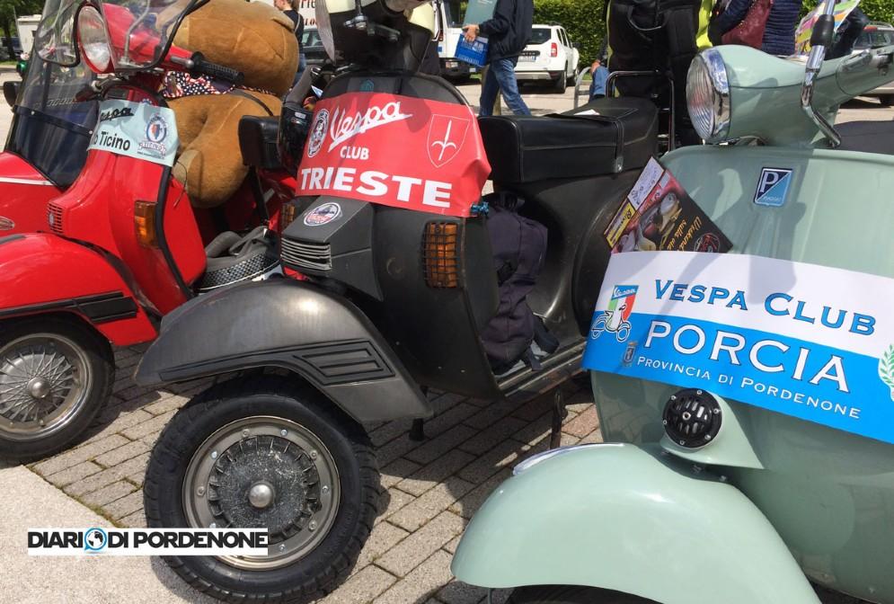La Giornata della Vespa a Fiume Veneto
