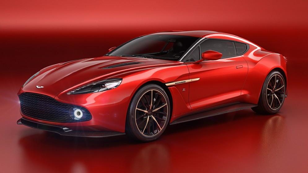 È frutto della collaborazione tra Andrea Zagato e Marek Reichman, responsabile del design di Aston Martin