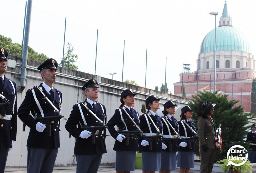 La festa della Polizia in Questura (© Diario di Udine)