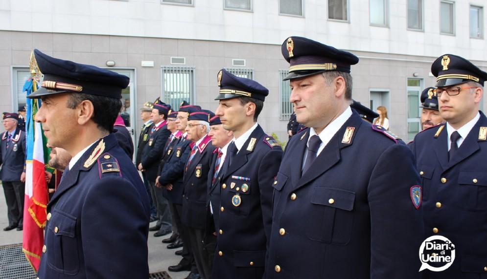 La festa della Polizia in Questura