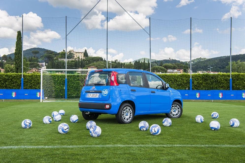 Le Fiat Pandazzurri si potranno ammirare già durante il porte aperte del 28-29 maggio