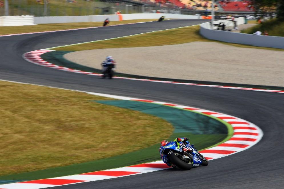 Le curve della pista di Barcellona