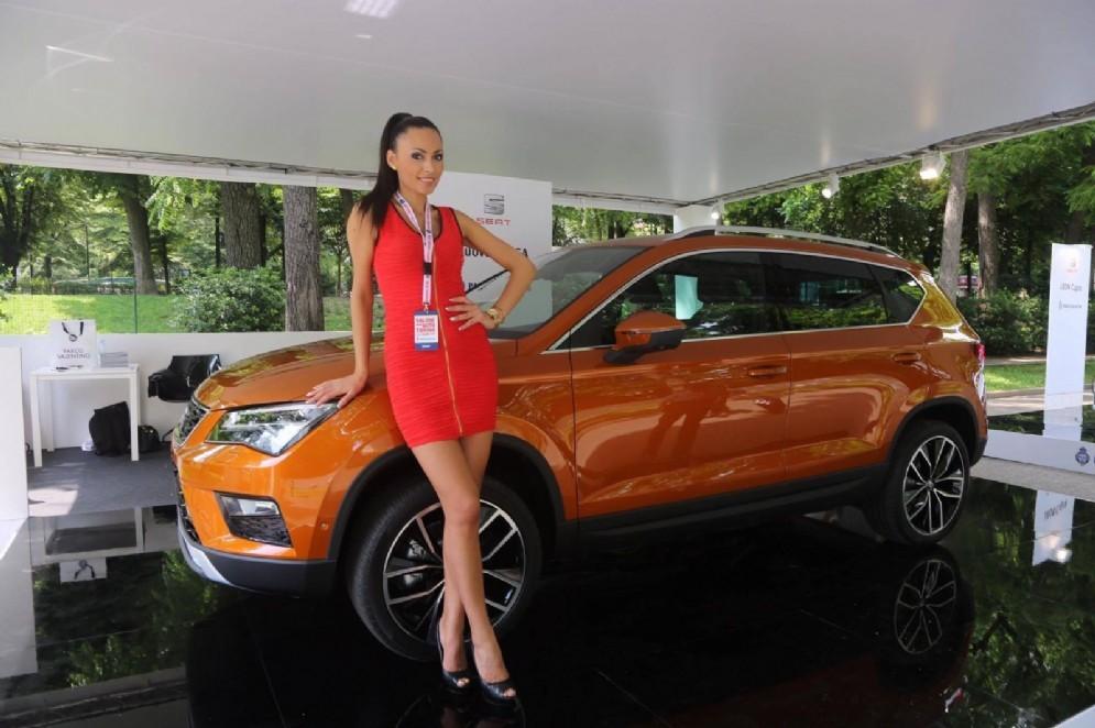 Donne e motori:binomio vincente del Salone dell'Auto (© Andrea Cherchi)