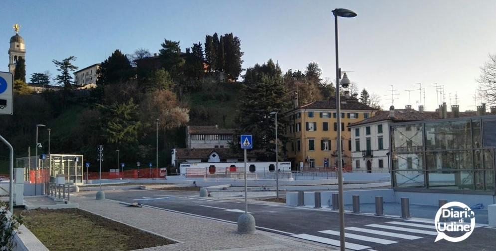Il nuovo parcheggio in Giardin Grande