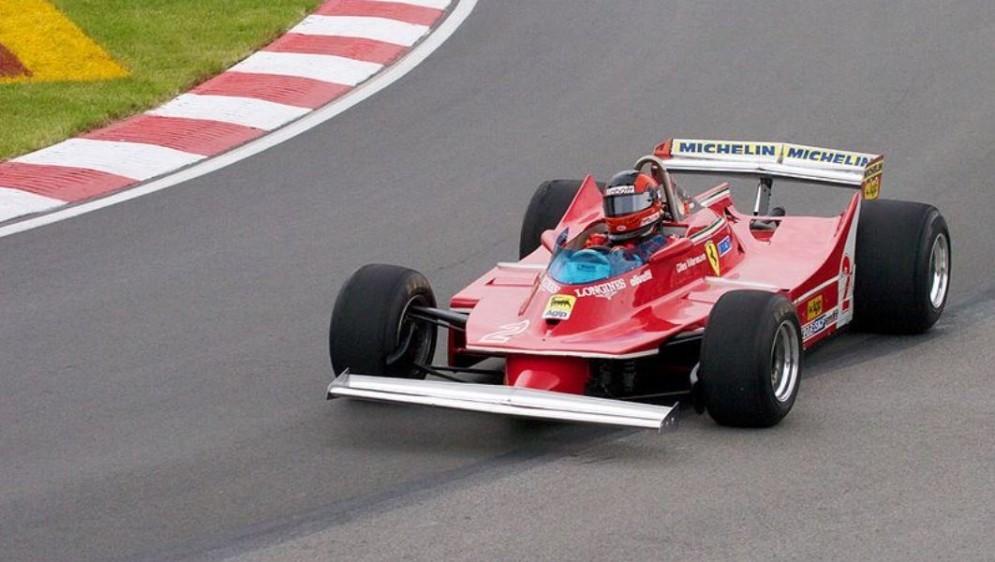 Gilles Villeneuve sulla Ferrari 312-T5