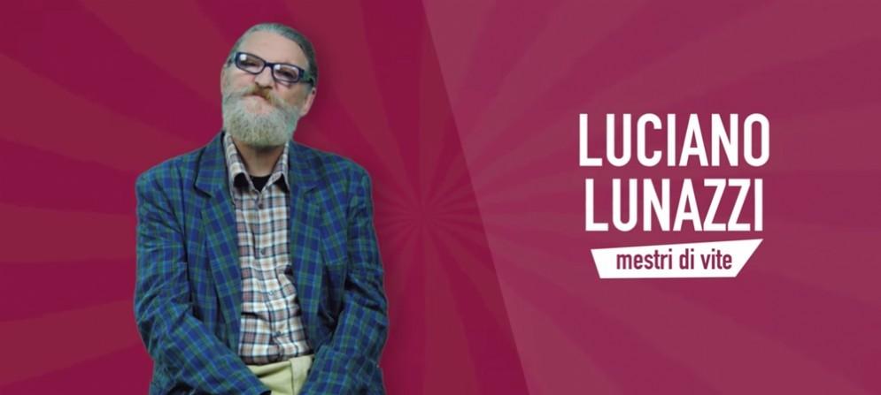 Luciano Lunazzi in uno dei video 'Tacons'