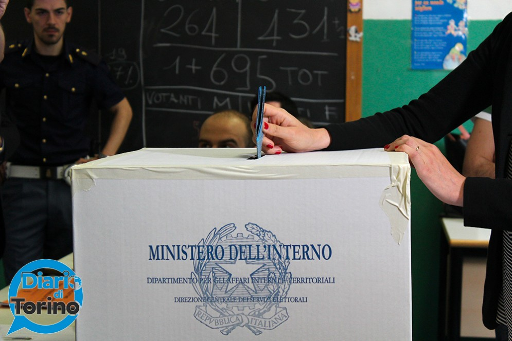 Chiara Appendino ha votato alle ore 9