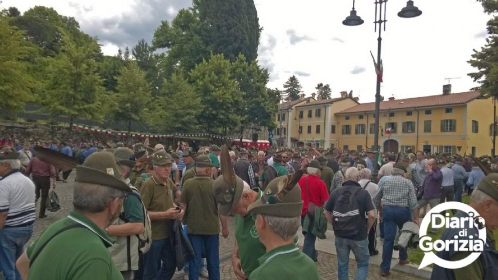 Lo scioglimento del corteo in piazza Sant'Antonio