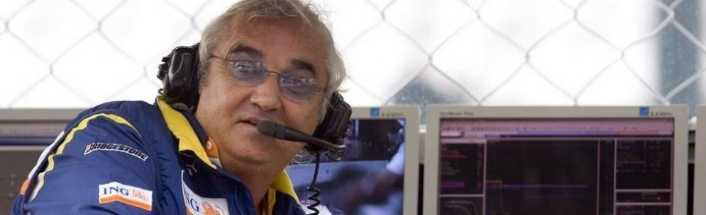 Flavio Briatore ai tempi della Renault