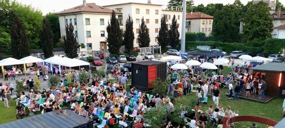 Il giardino estivo del Visionario di Udine
