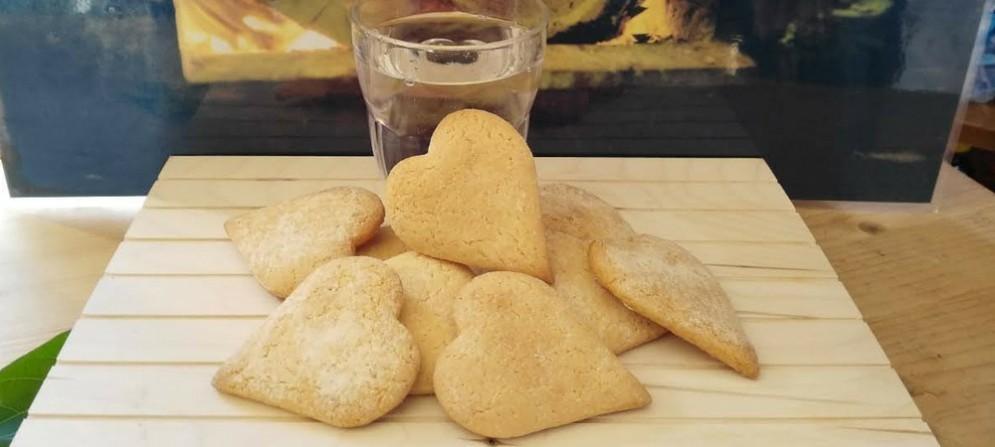 Il biscotto dedicato al Borgo di Poffadro, fatto con acqua di fonte sulla base di una tradizionale ricetta del Fvg