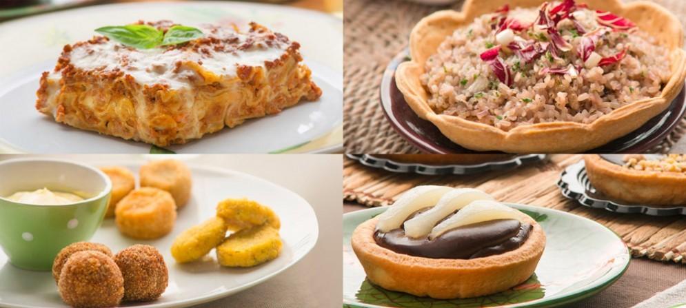 Alcune dei piatti proposti da Universo Vegano a breve con un suo punto anche a Udine