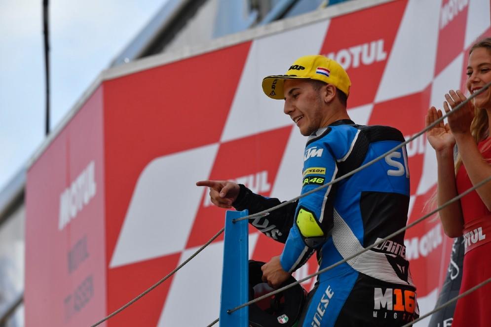 Andrea Migno, terzo