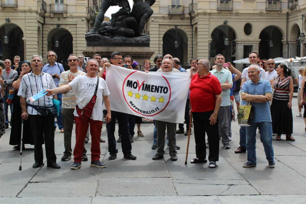 La gioia di alcuni pensionati per l'elezione di Chiara Appendino