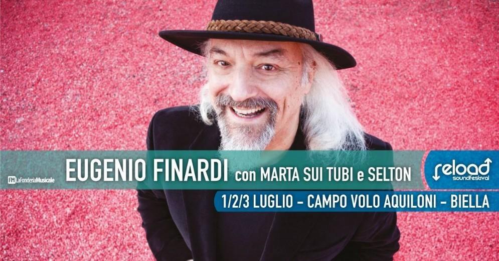 Eugenio Finardi al Reload Sound Festival 2016