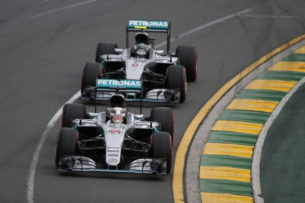 Lewis Hamilton e Nico Rosberg ai ferri corti