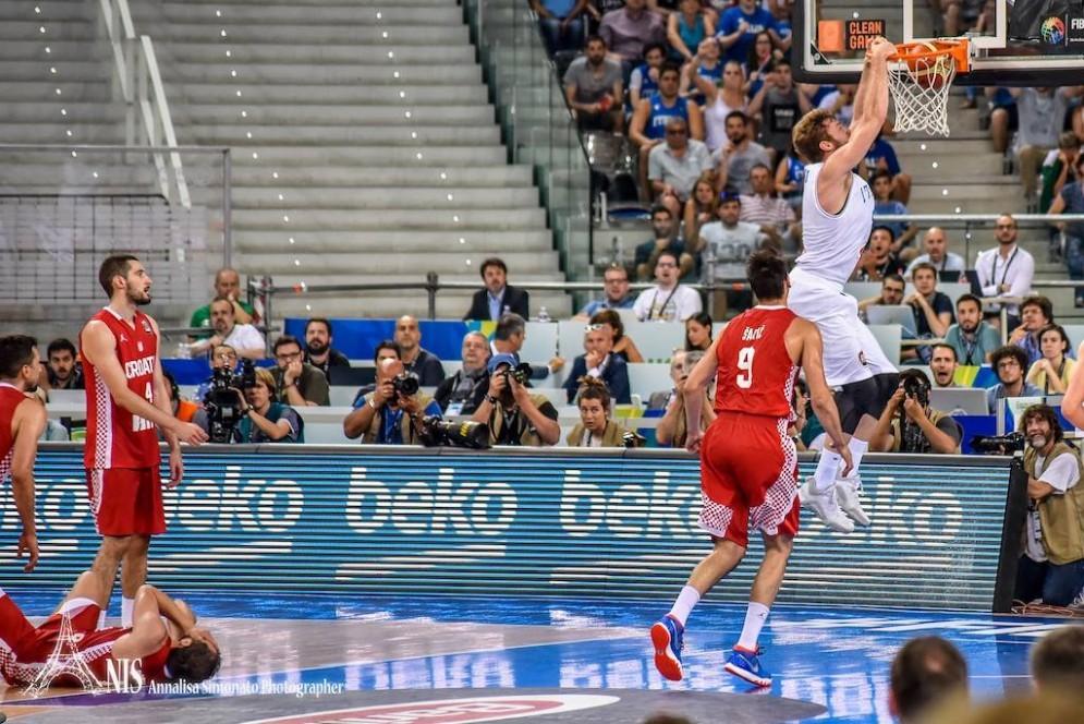 Vittoria italiana ieri nel Preolimpico: 67-60 alla Croazia (© Annalisa Simonato)