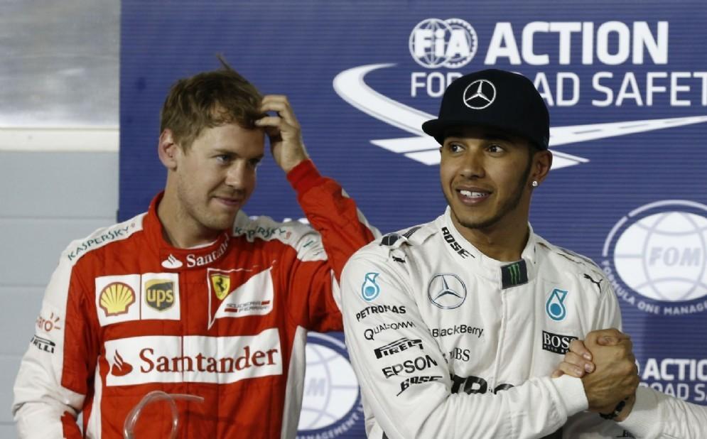 Sebastian Vettel e Lewis Hamilton: la prossima coppia Ferrari?