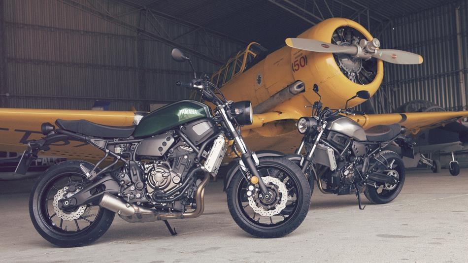 Yamaha XSR 700 - 855 esemplari venduti