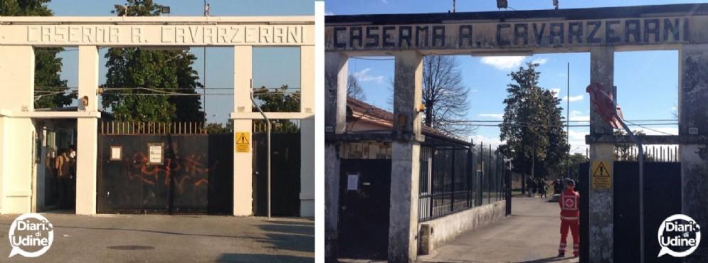 La avarzerani prima e dopo il restyling (© Diario di Udine)
