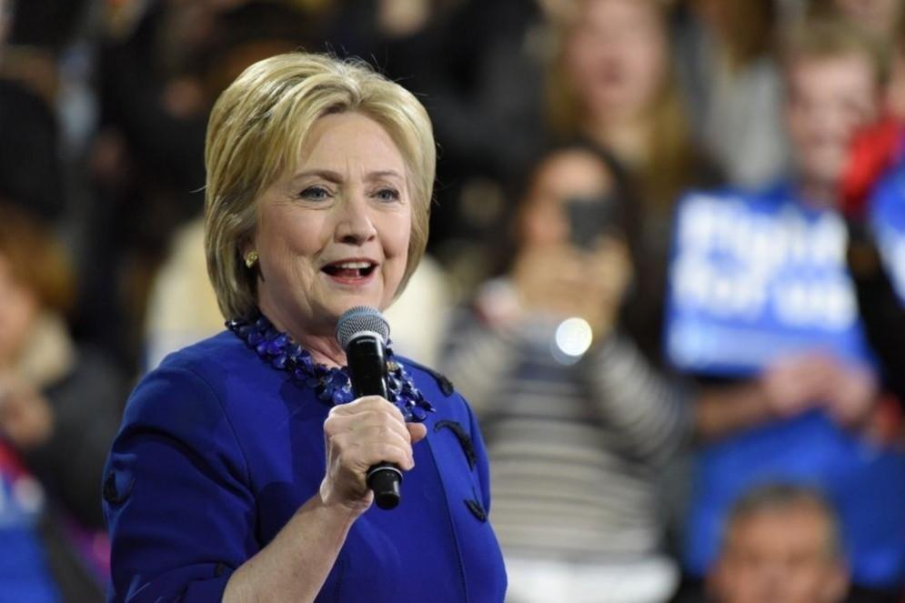 Hillary Clinton, candidata democratica alle Presidenziali americane del 2016