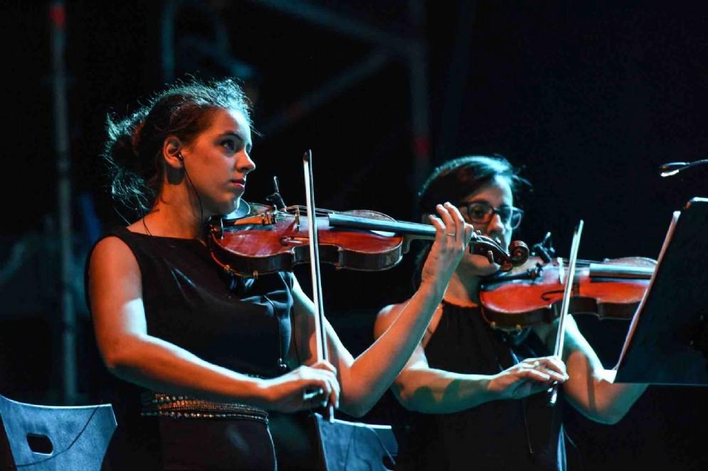 L'orchestra del concerto