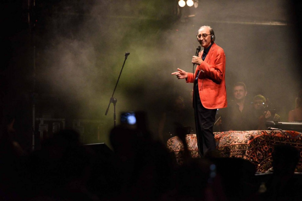 Franco Battiato tra i fan
