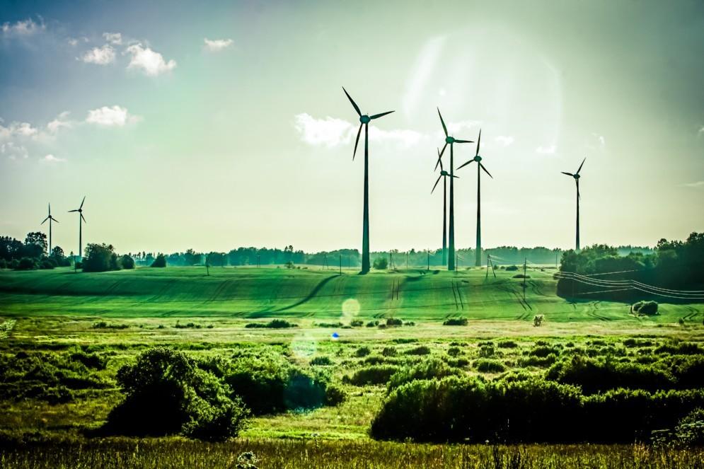 Impianto eolico in Spagna