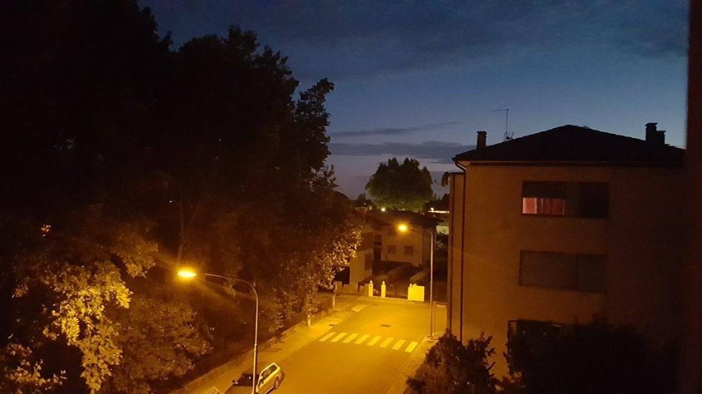 Udine, in lontananza è stato avvertito un «botto»
