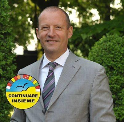 Il sindaco di Cavaglià, Giancarlo Borsoi