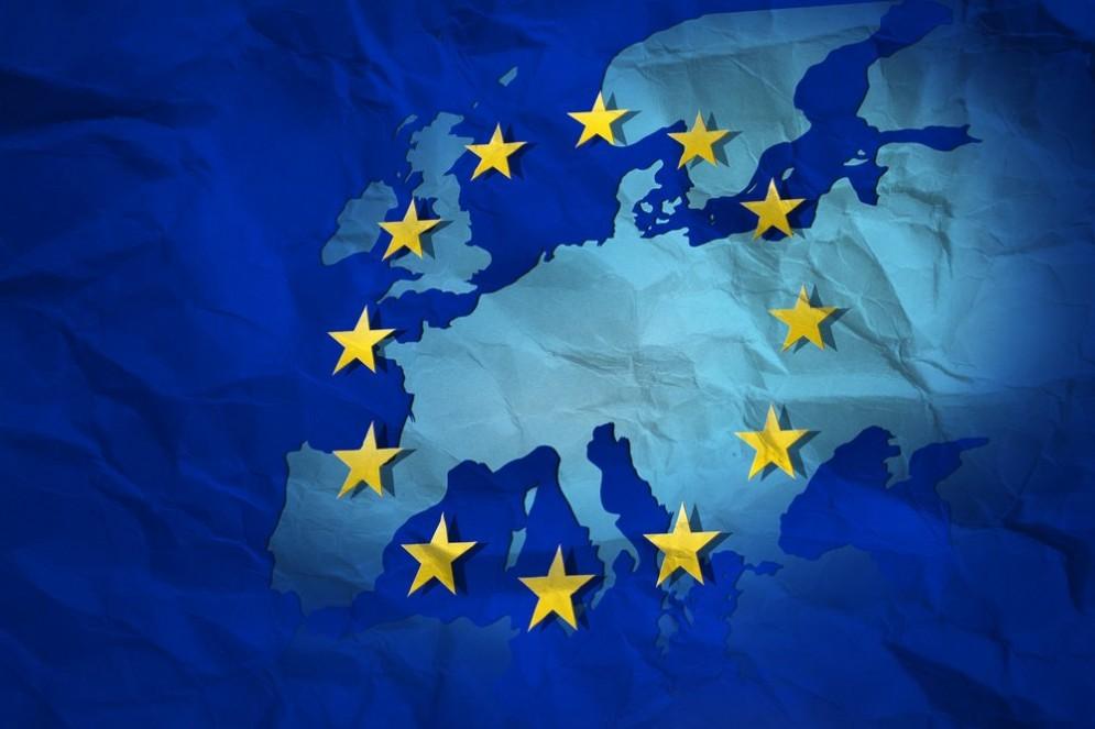 La bandiera europea