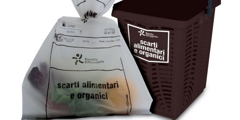 I rifiuti organici della città di Roma vengono smaltiti in Fvg